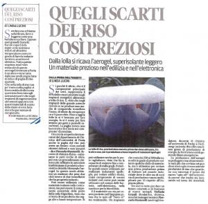 """""""La Provincia Pavese"""" inserto Innovazione, 01/12/2015"""